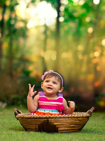 Baby Photoshoot In Jalandhar
