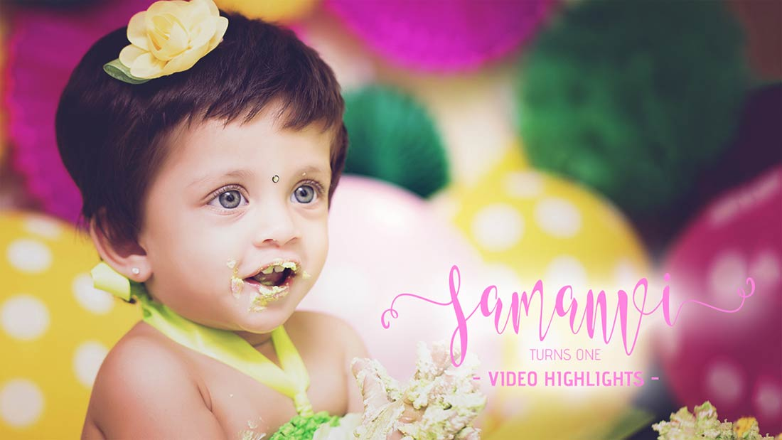 Baby Events and Birthday Photography in Hyderabad, India