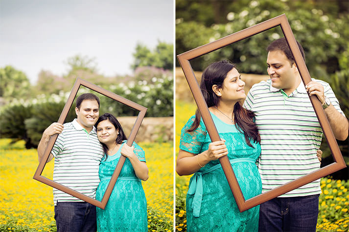 Sheetal's Maternity Photo session in Hyderabad