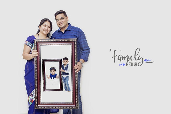 Family Photography Hyderabad Jia